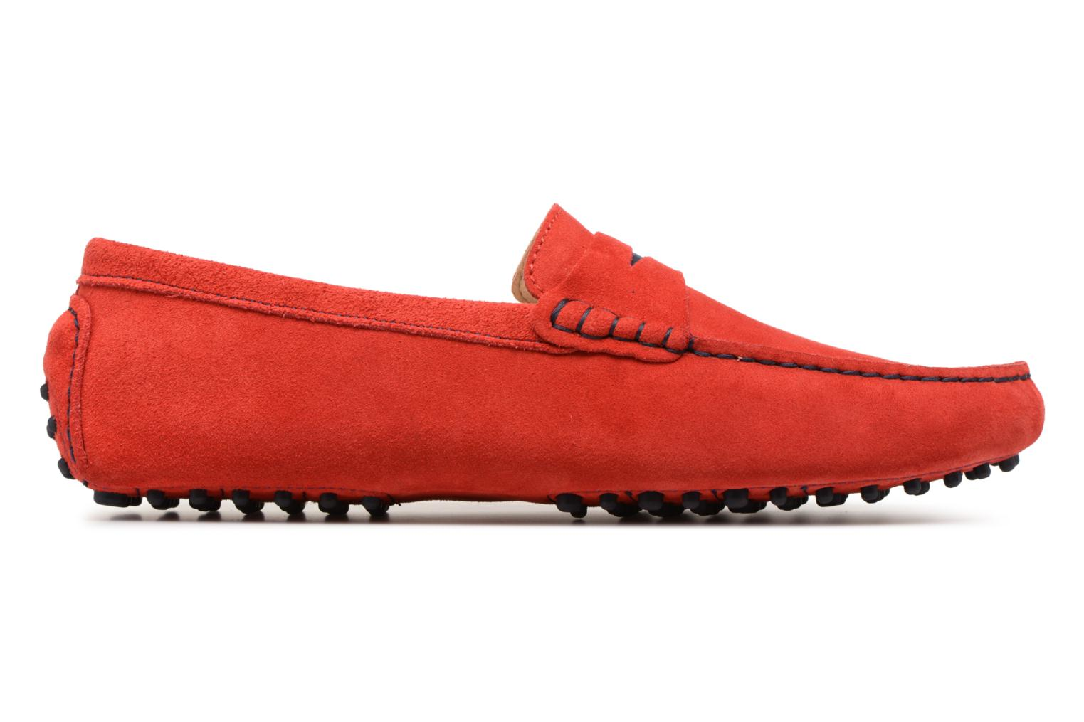 Loafers Mr SARENZA Suttin Red detailed view/ Pair view