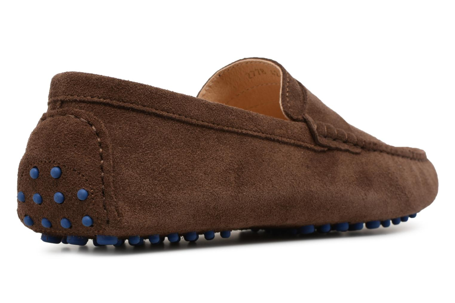 Loafers Mr SARENZA Suttin Brown front view