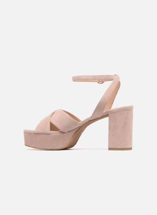 Sandalen What For Astrid rosa ansicht von vorne