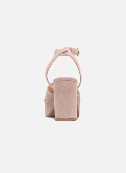 Sandalen What For Astrid rosa ansicht von rechts