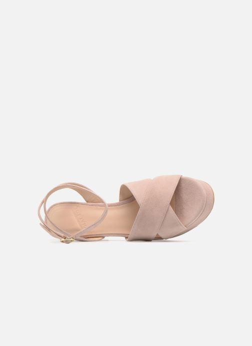 Sandalen What For Astrid rosa ansicht von links