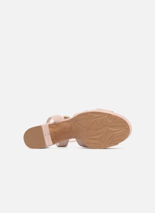 Sandali e scarpe aperte What For Astrid Rosa immagine dall'alto
