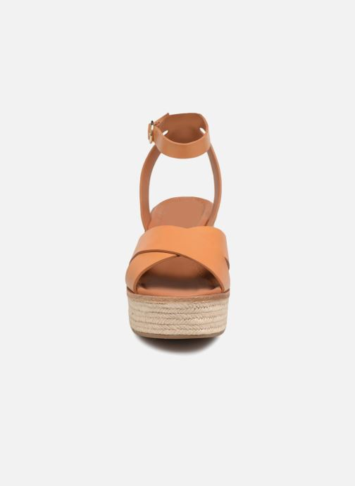 Sandalen What For Claudette WF535 braun schuhe getragen