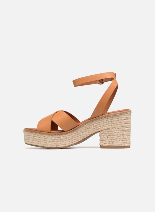 Sandalias What For Claudette WF535 Marrón vista de frente