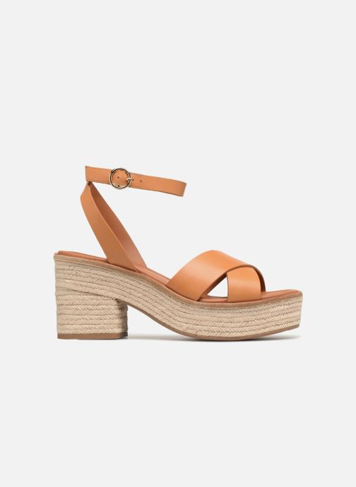 Sandalias What For Claudette WF535 Marrón vistra trasera