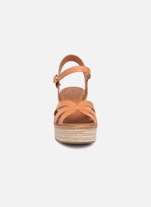 Light Sandales pieds Wf535 Brown What For Et Nu Claudette H9DIE2