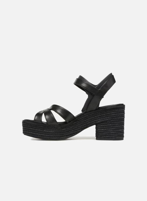 Sandales et nu-pieds What For Claudette WF536 Noir vue face