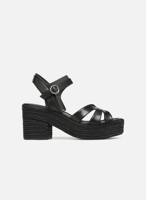 Sandales et nu-pieds What For Claudette WF536 Noir vue derrière
