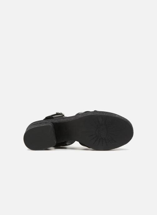 Sandales et nu-pieds What For Claudette WF536 Noir vue haut