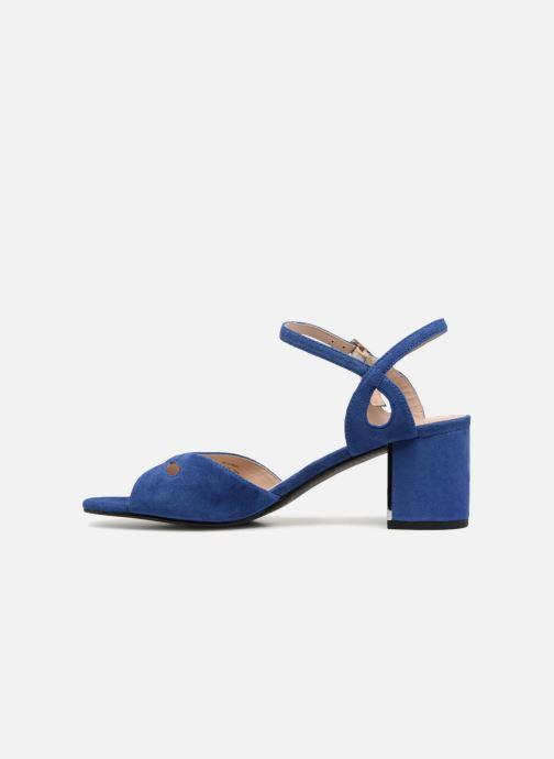 Zapatos de tacón What For Anne Azul vista de frente
