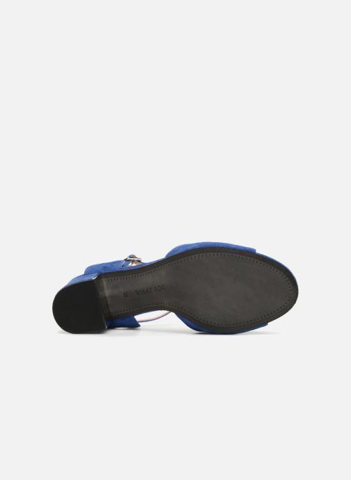Zapatos de tacón What For Anne Azul vista de arriba