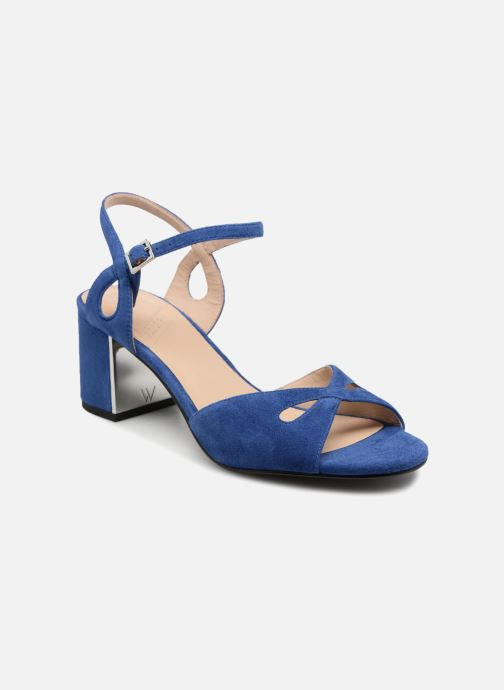 High heels What For Anne Blue detailed view/ Pair view