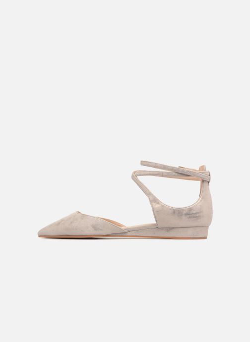 Ballet pumps What For Edith Beige front view