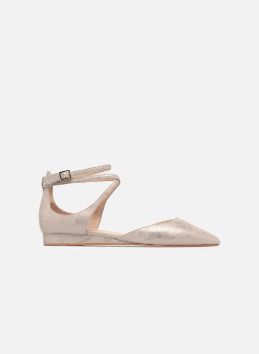 Ballet pumps What For Edith Beige back view