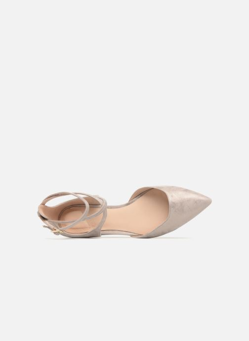 Ballet pumps What For Edith Beige view from the left