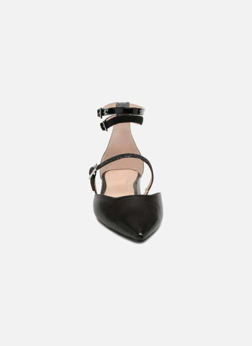 Ballerines What For Rudy Noir vue portées chaussures