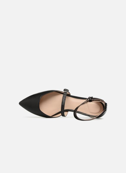 Ballerines What For Rudy Noir vue gauche