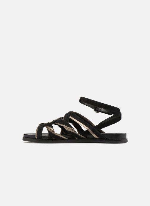 Sandalen What For Alizee schwarz ansicht von vorne