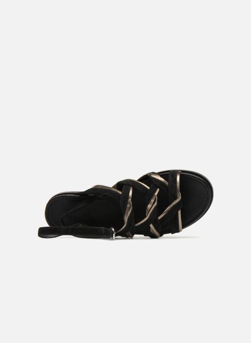 Sandalen What For Alizee schwarz ansicht von links
