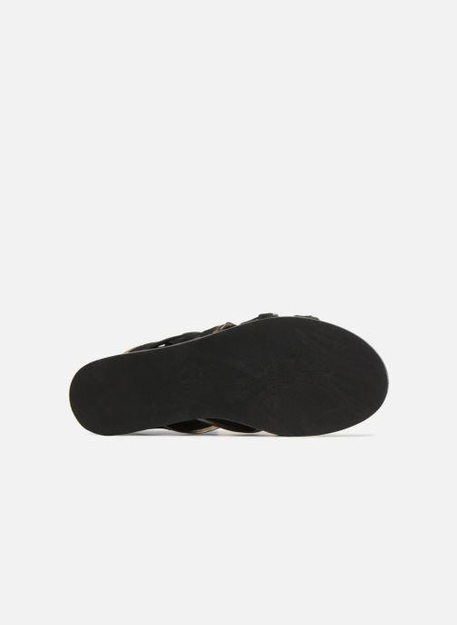 Sandalen What For Alizee Zwart boven