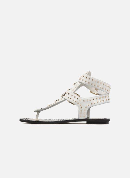 Sandales et nu-pieds What For Azur Blanc vue face