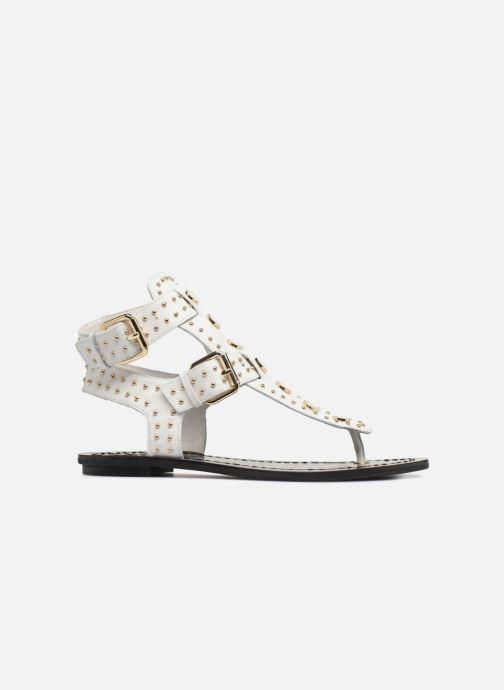 Sandales et nu-pieds What For Azur Blanc vue derrière