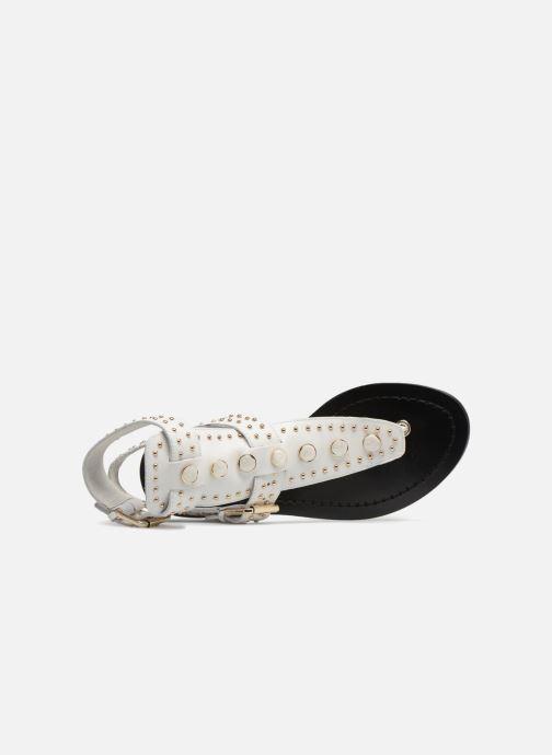 Sandales et nu-pieds What For Azur Blanc vue gauche