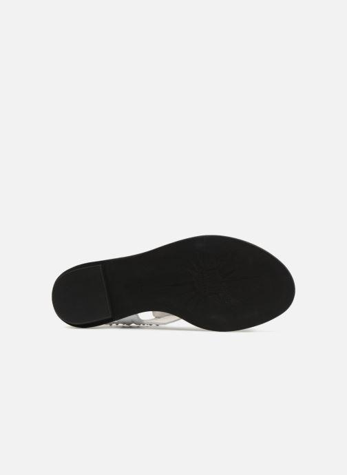 Sandales et nu-pieds What For Azur Blanc vue haut