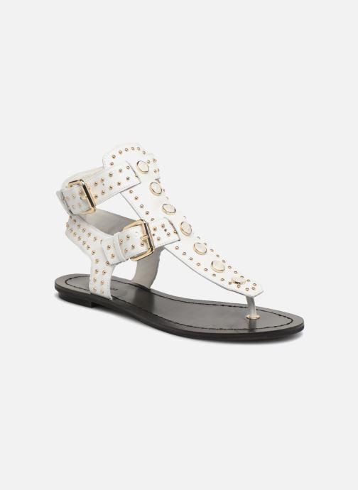 Sandales et nu-pieds What For Azur Blanc vue détail/paire