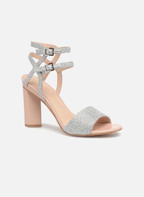 Sandales et nu-pieds What For Georgia Argent vue détail/paire