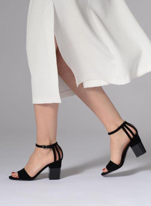 Sandali e scarpe aperte What For Palerme WF461 Nero immagine dal basso