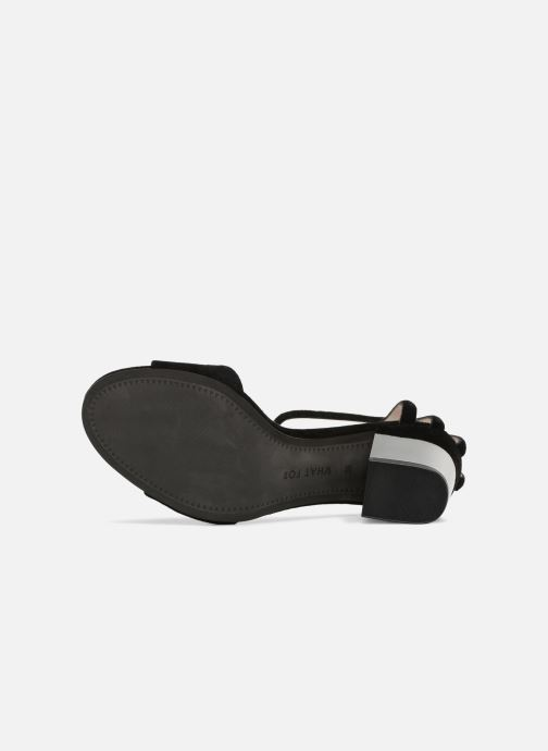 Sandali e scarpe aperte What For Palerme WF461 Nero immagine dall'alto