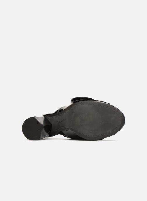 Clogs & Pantoletten What For Bou schwarz ansicht von oben