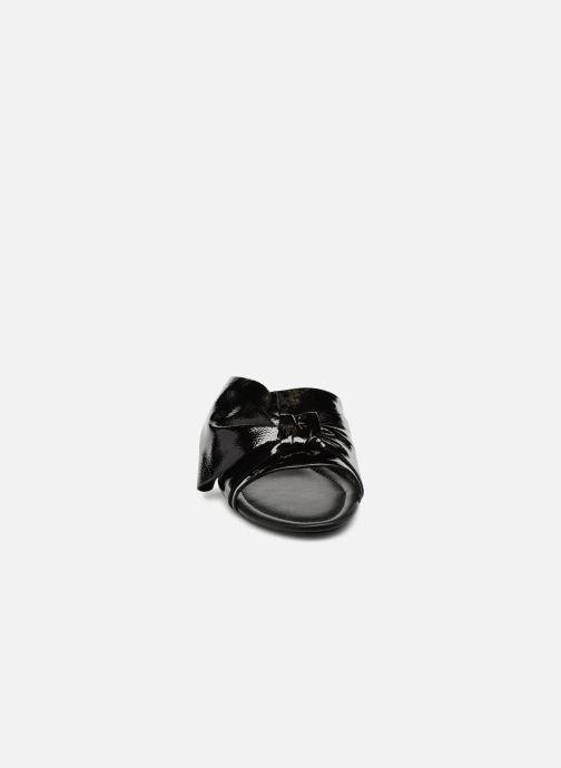 Mules et sabots What For Bonnie Noir vue portées chaussures