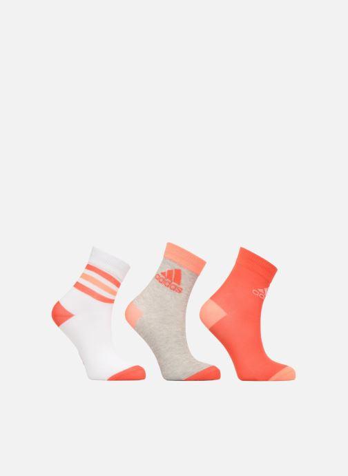 Sokken en panty's adidas performance LK  ANKLE S 3PP Roze detail