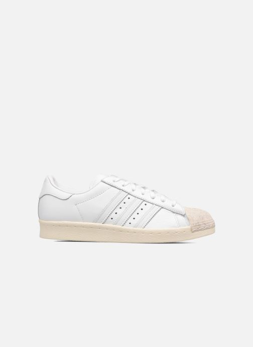 Baskets Adidas Originals SUPERSTAR 80s CORK Blanc vue derrière