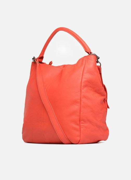 Handbags Liebeskind Berlin Kano Orange view from the right