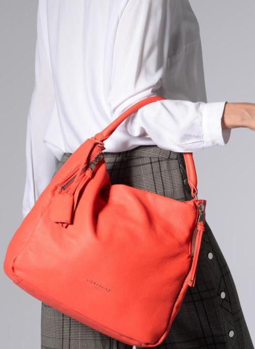 Handbags Liebeskind Berlin Kano Orange view from underneath / model view