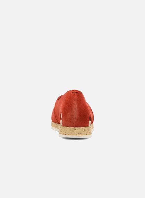 Sandales et nu-pieds Aerosoles Dance Floor Rouge vue droite