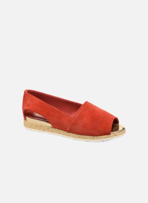 Sandales et nu-pieds Aerosoles Dance Floor Rouge vue détail/paire