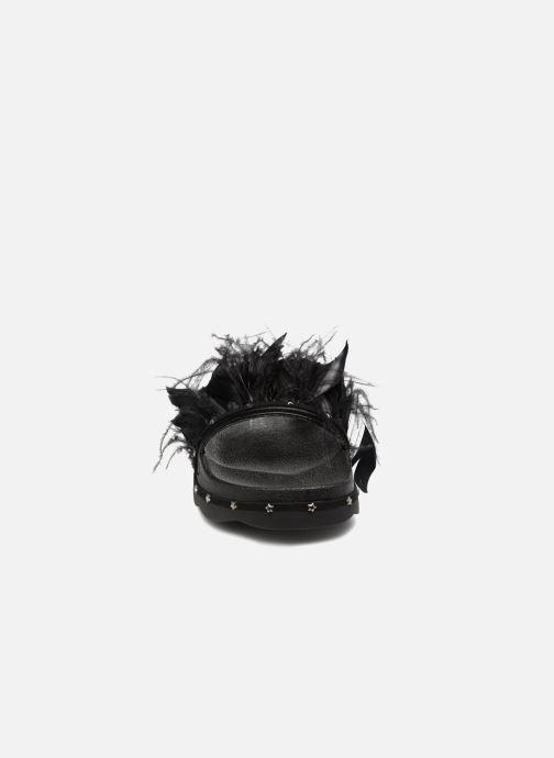 Mules et sabots Sixty Seven Yopa Noir vue portées chaussures