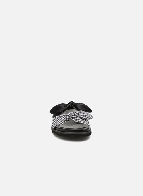 Mules et sabots Sixty Seven Vichy black Noir vue portées chaussures