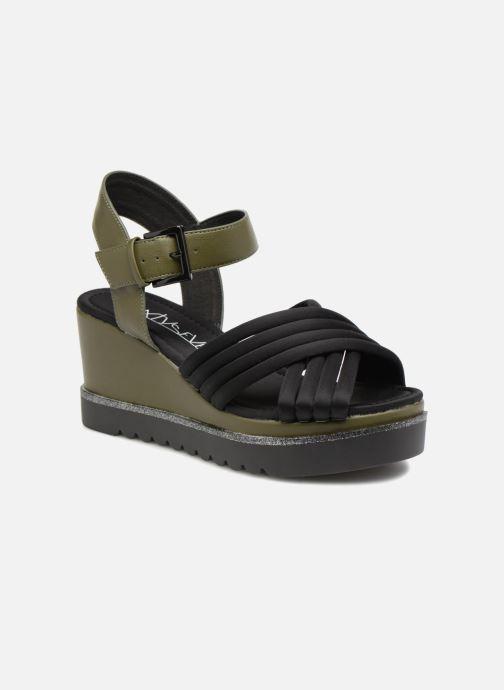 Sandaler Sixty Seven Kakiba Grøn detaljeret billede af skoene