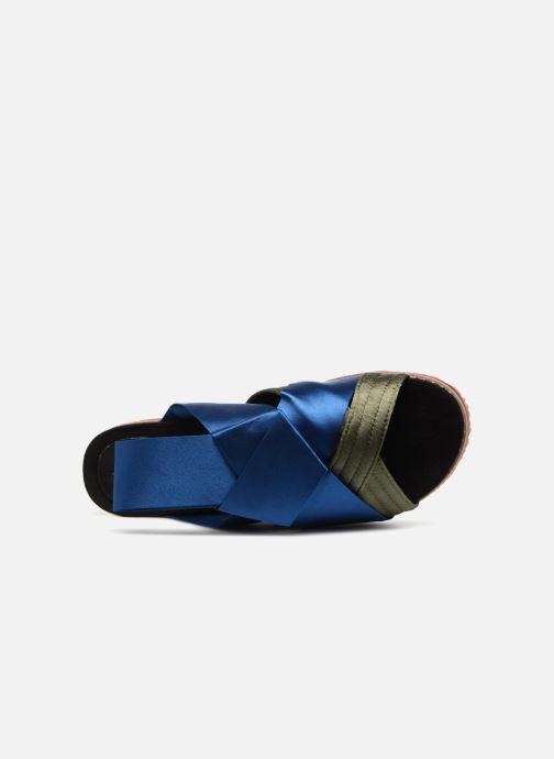 Sandalen Sixty Seven Blue dead blau ansicht von links