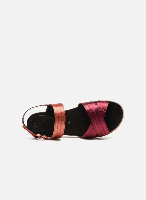 Sandales et nu-pieds Sixty Seven Orangeade Rose vue gauche