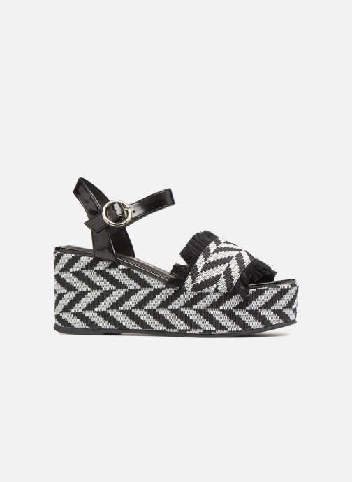 Sandales et nu-pieds Sixty Seven Damier black Noir vue derrière