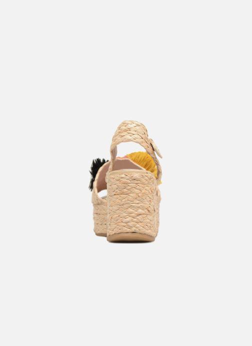 Sandalen Sixty Seven Pompom beige ansicht von rechts