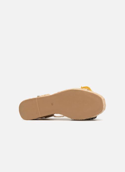 Sandalen Sixty Seven Pompom beige ansicht von oben