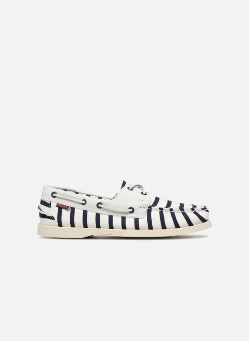 Lace-up shoes Sebago Docksides Sebago X Armorlux M White back view