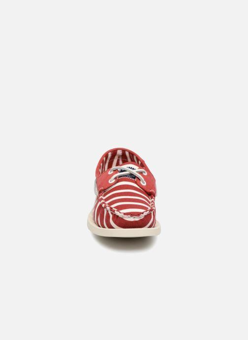 Lace-up shoes Sebago Docksides Sebago X Armorlux M Red model view